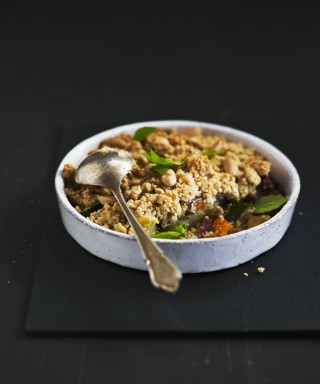 Crumble salato di verdure