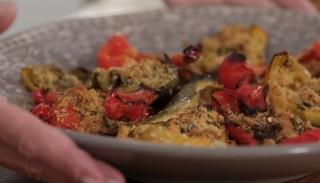Peperoni gratinati: la video ricetta
