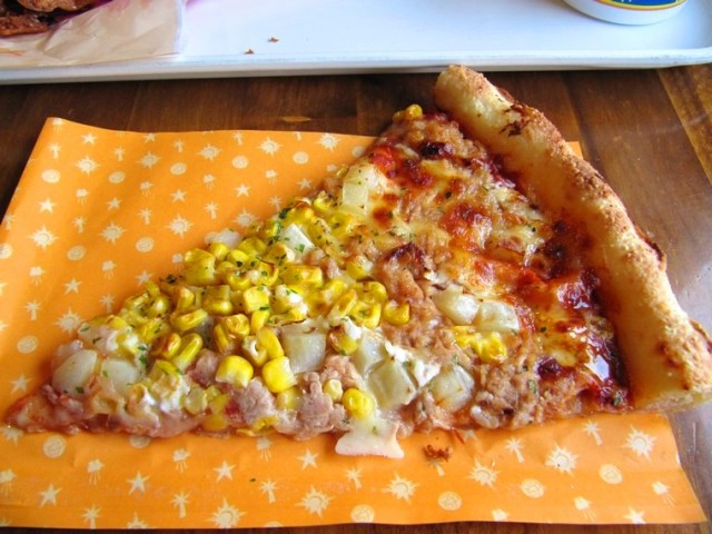 Pizza giapponese