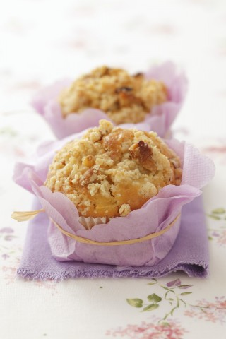 Snack golosi: muffin alle mele