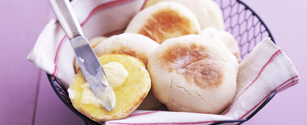 Muffin inglesi per uova alla Benedict
