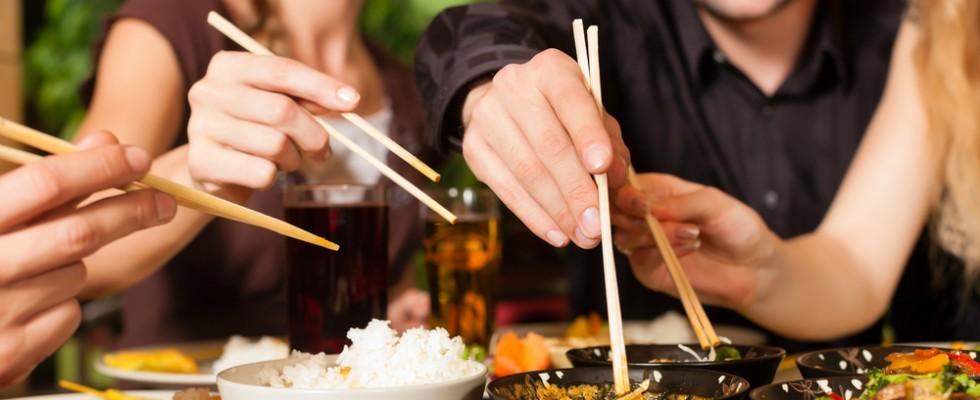 Cina: il galateo del ristorante