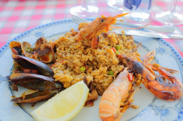 paella real