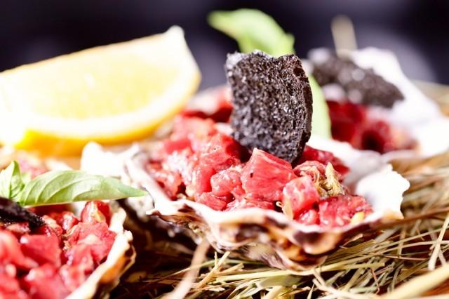 Red tuna ceviche