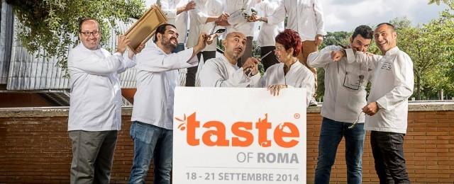 Tutti gli chef di Taste of Roma 2014