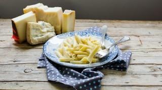 La pasta ai 4 formaggi