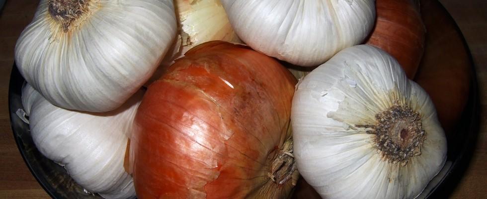 Aglio e Cipolla: diminuiscono il rischio di tumore allo stomaco