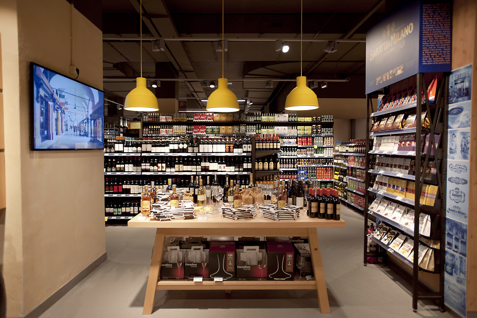 Carrefour a milano il market si fa bottega agrodolce for Negozi di arredamento palermo
