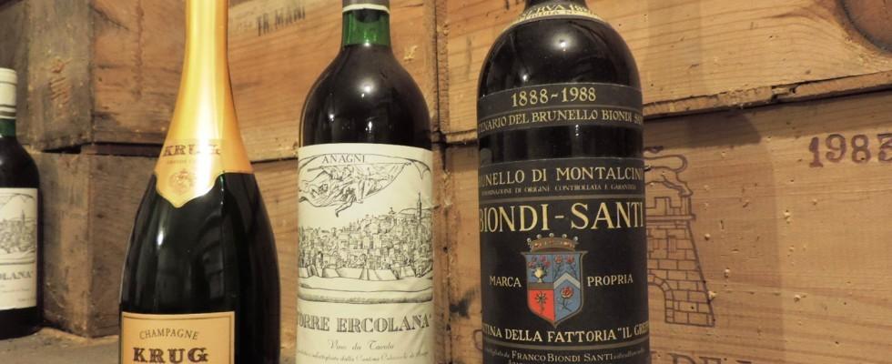 La bottiglia di Trimani per Taste of Roma
