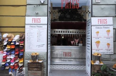 Benvenuta Fries, la patatineria della Capitale