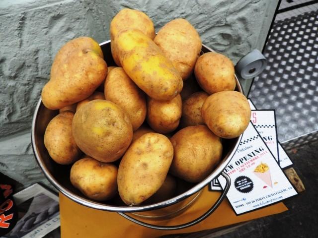 Fries Roma patate