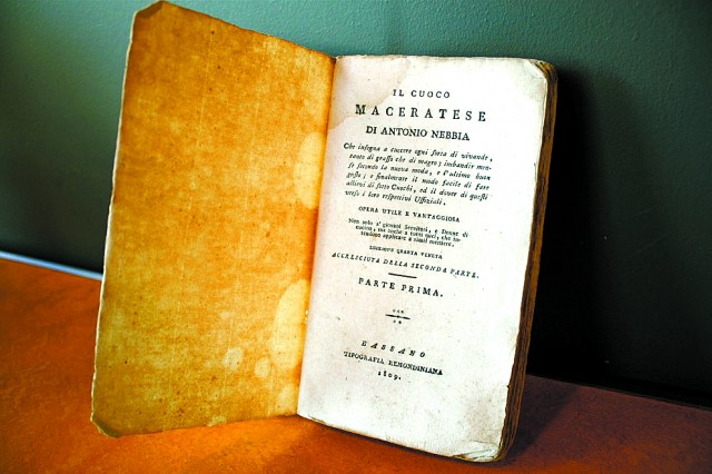1809 EDITION OF 'IL CUOCO MACERATESE'