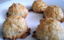 Ecco i biscotti al cocco senza uova