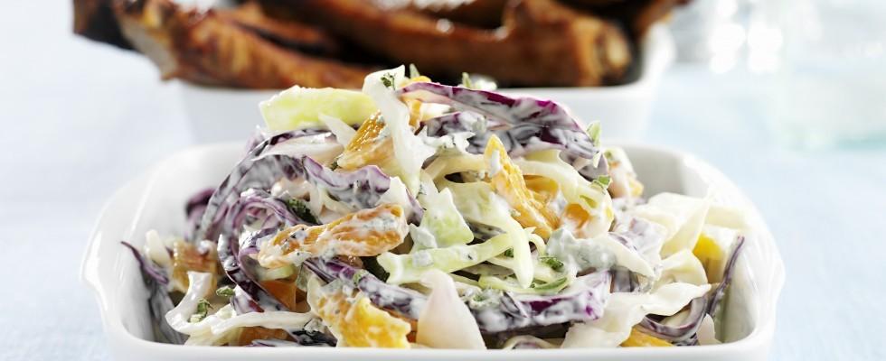 Coleslaw: insalata di cavolo
