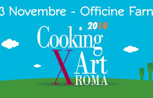 Cooking For Art: la cucina incontra la montagna, a Roma dal 1-3 Novembre