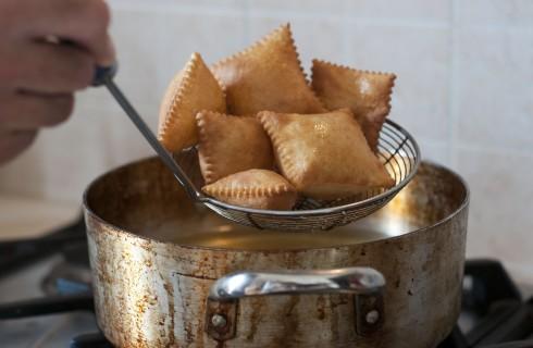 La frittura dello gnocco fritto
