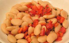 Insalata di cannellini e peperoni con la ricetta del contorno semplice