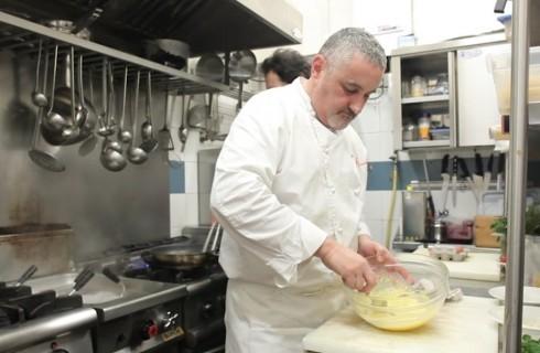 La ricetta della pasta alla carbonara di Arcangelo Dandini