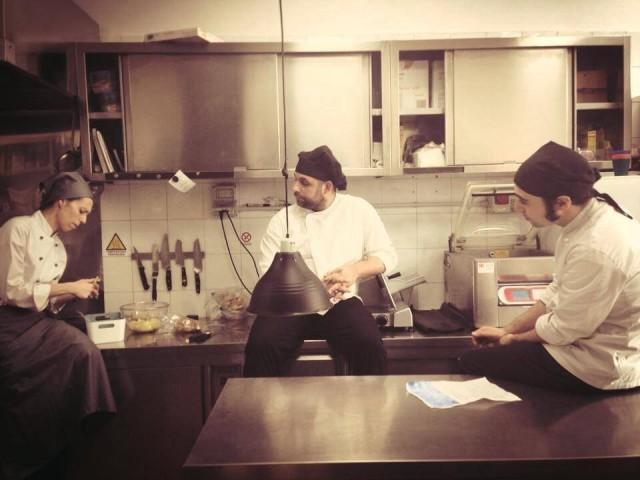 marta in cucina