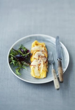 Le omelette al formaggio
