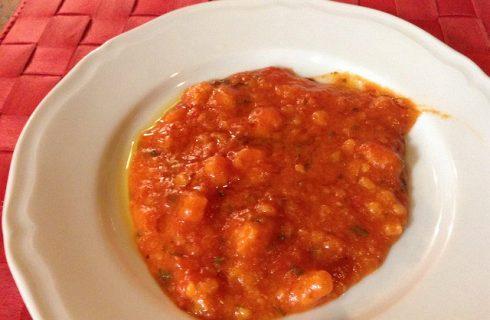 La ricetta della pappa al pomodoro per bambini