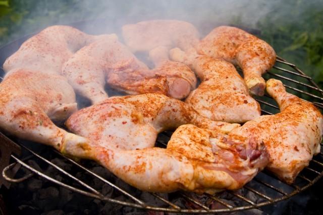 pollo affumicato barbecue