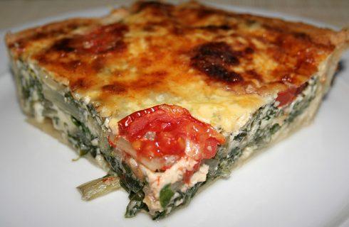 La ricetta della quiche di verdure nella versione light