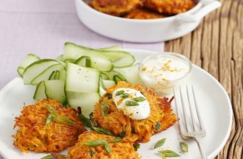 Rösti di carote e cipolle