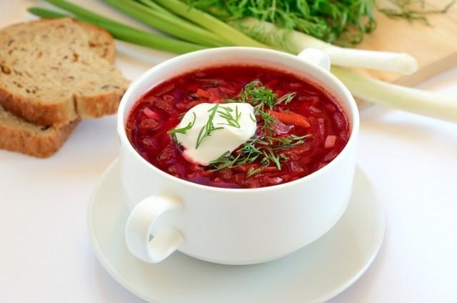 zuppa con lo yogurt