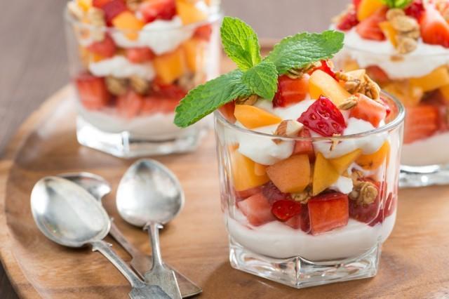 coppa allo yogurt