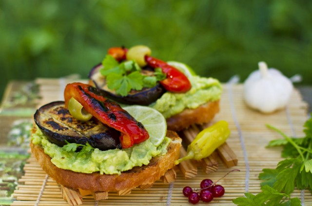 Sandwich all'avocado