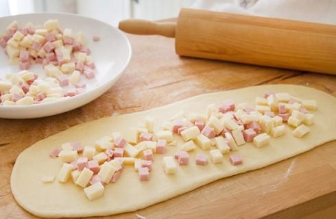 L'impasto della brioche salata