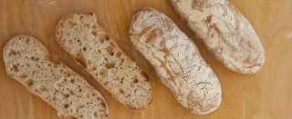 La ricetta del pane ciabatta fatto in casa