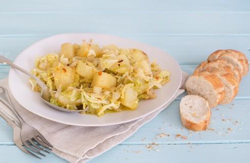 Verza e patate: la ricetta