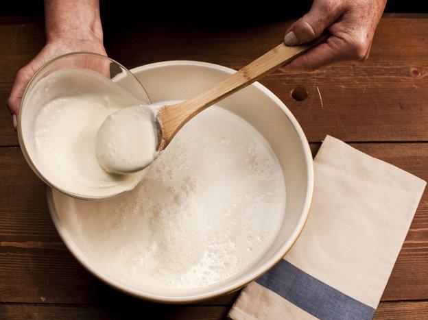 yogurt preparazione