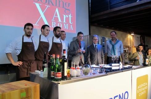 Cooking for Art porta a Roma la finale degli chef Emergenti