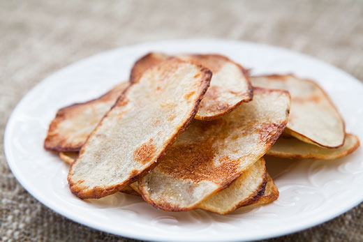patate chips al forno
