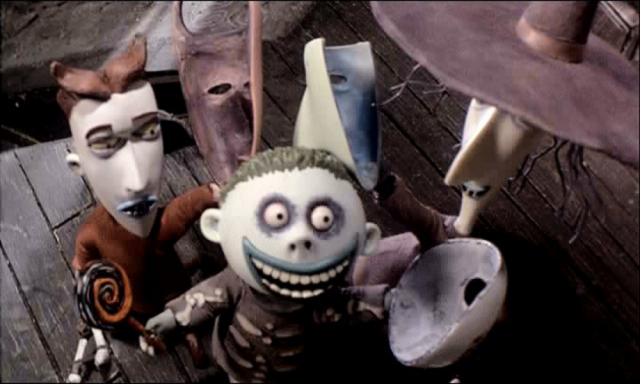Lock, Shock and Barrel, personaggi di TIm Burton