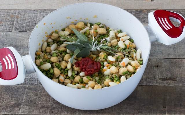 Step 3 zuppa di legumi