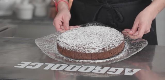 Torta caprese - still life