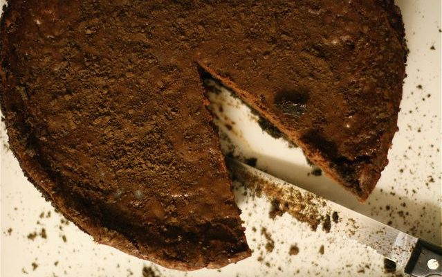Il cheesecake alle pere e cioccolato con la ricetta facile