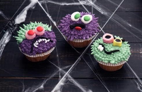 Gli Halloween cupcakes