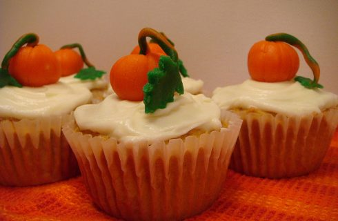 I cupcake alla zucca da preparare per Halloween
