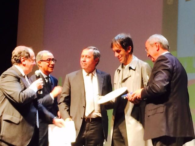 La premiazione di Oldani