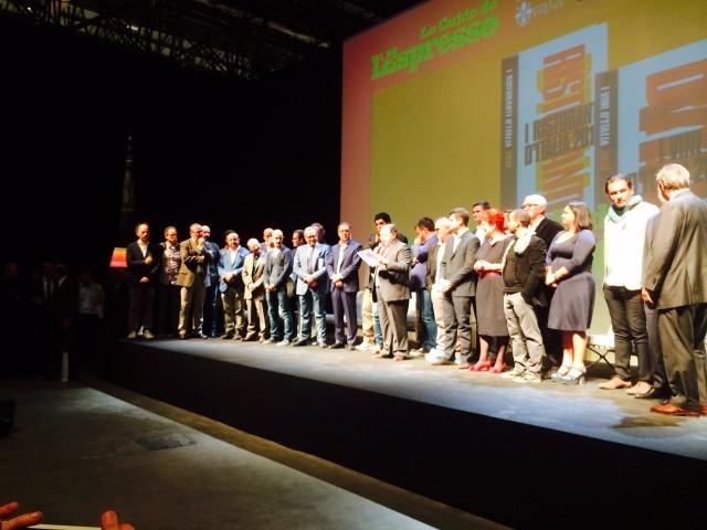 Premiazione de L'Espresso 2015