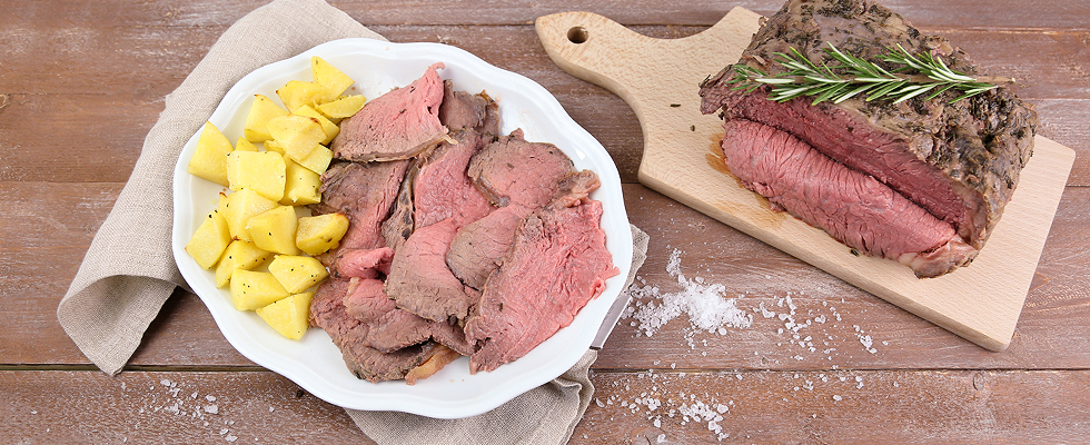 Roast beef al sale, dalla cucina inglese | Agrodolce