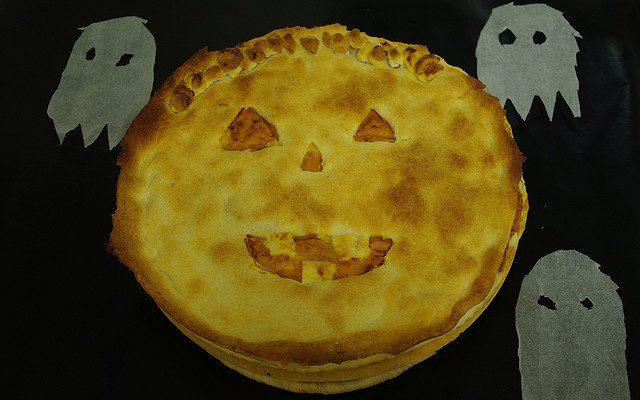 La torta di Jack O' Lantern con la ricetta di Halloween