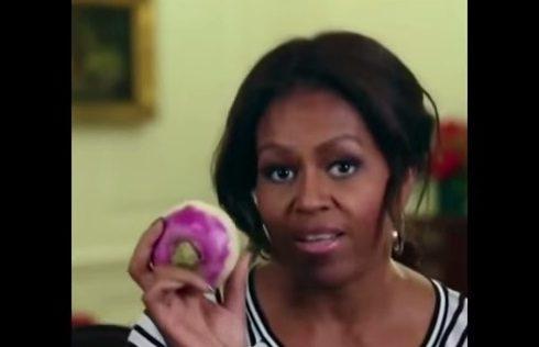 Michelle Obama spopola con il rap della rapa