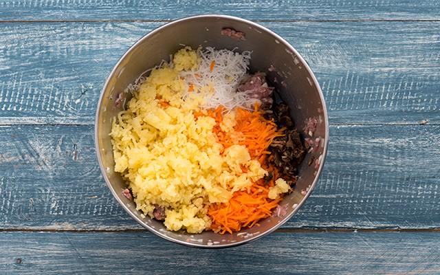 Nem Ran involtini vietnamiti - patate carote