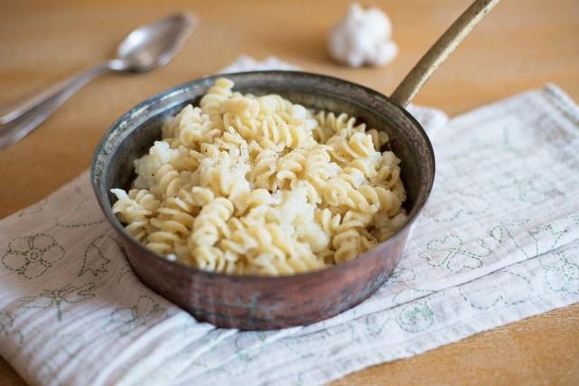 La pasta con cavolfiore